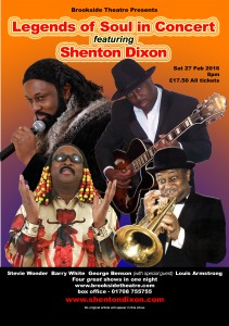 Shenton Dixon in Concert Legends of Soul